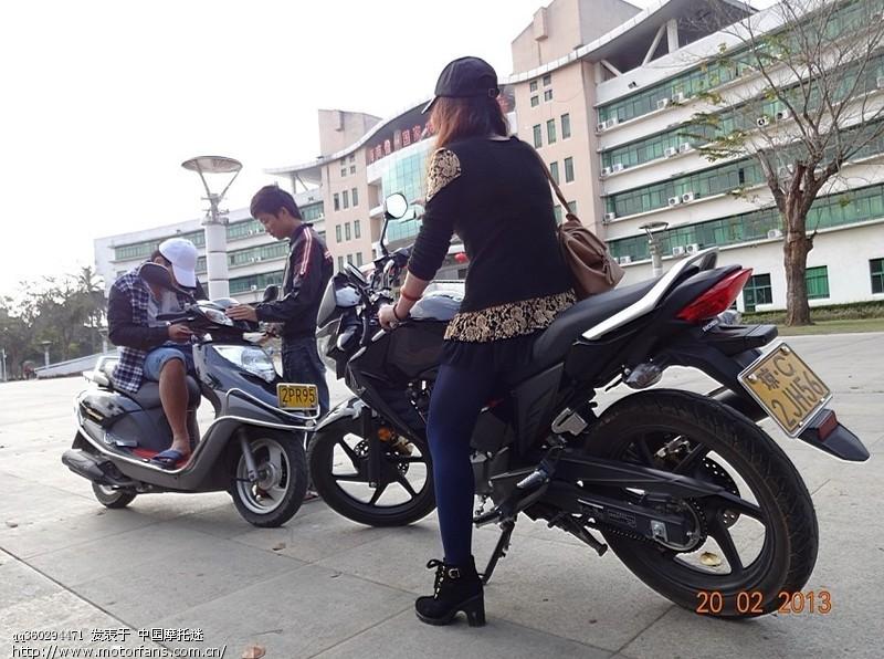 摩托车论坛 五羊本田-骑式车讨论专区 五羊本田-幻影150 03 幻影