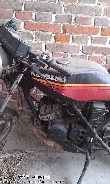 这个是什么车,懂行的给看看! - 摩托车论坛 - 摩