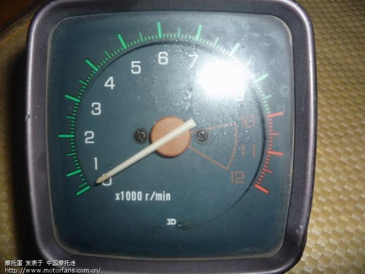 还有个电装的转速表50