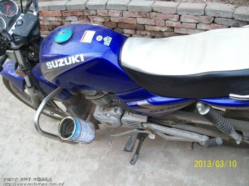 蓝色圆灯gt125全记录(6年11500公里) - 济南铃木 - 车