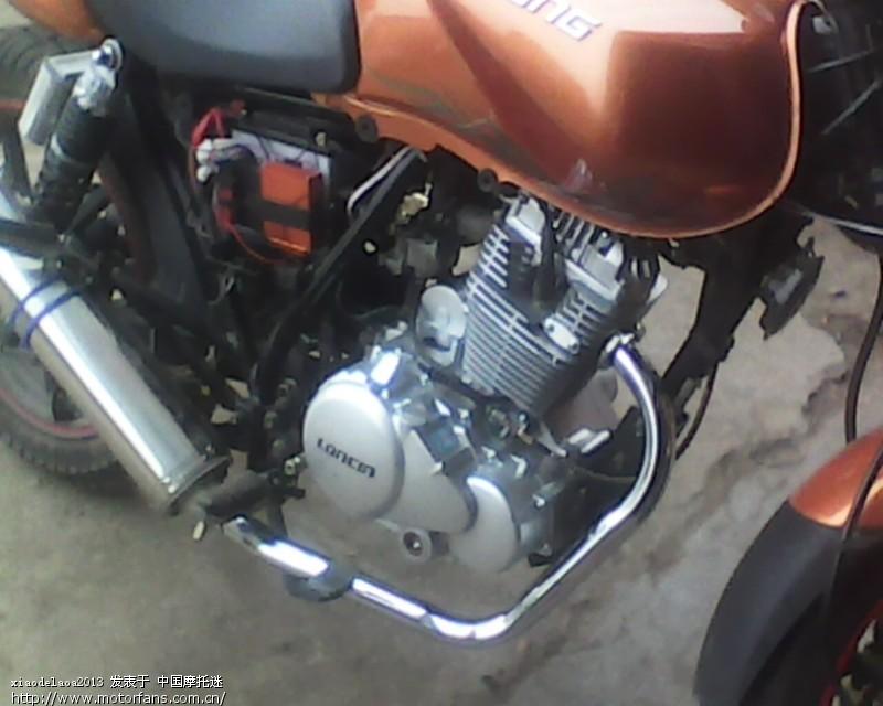 钱江龙150-19c改装250发动机完工