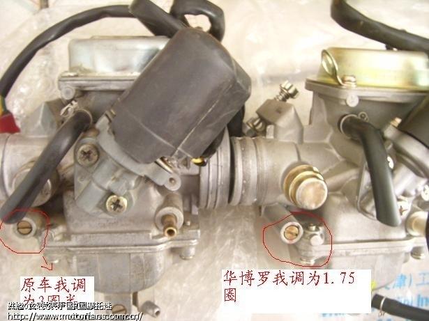 gy6发动机的混合比应该怎么调?