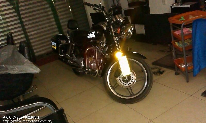 终于买了啊 新本焰影 - 新大洲本田 - 摩托车论坛
