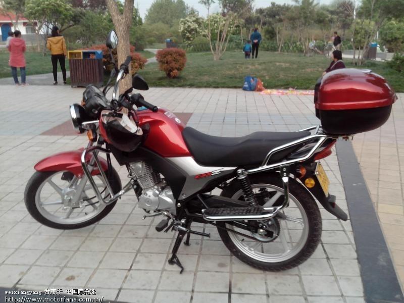 新入手锋朗裸机-五羊本田-锋朗125-摩托车论坛手机版-中国第一摩托车