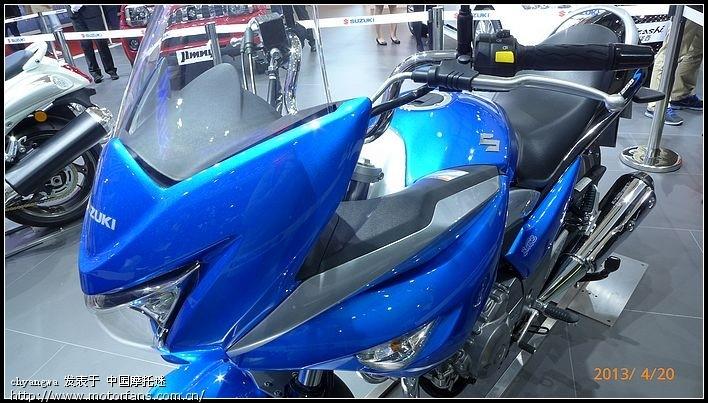 骊驰旅行版GW250S,今天在上海车展发布了 豪爵铃木 骑式车讨论专高清图片