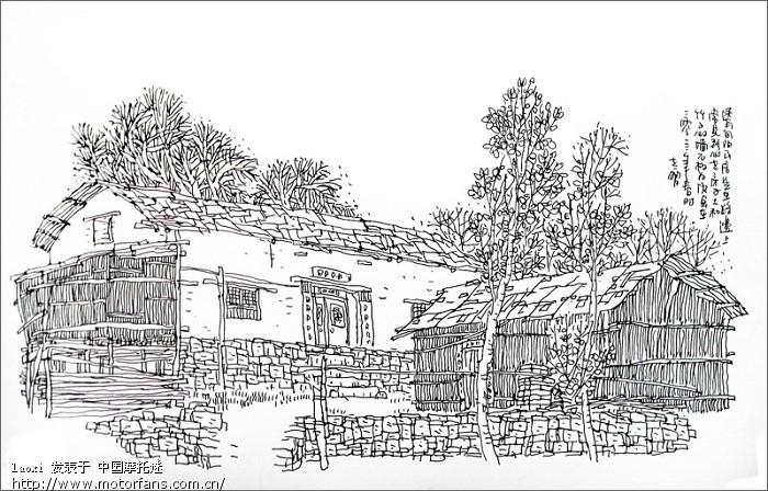 (加手绘图) - 陕西摩友交流区