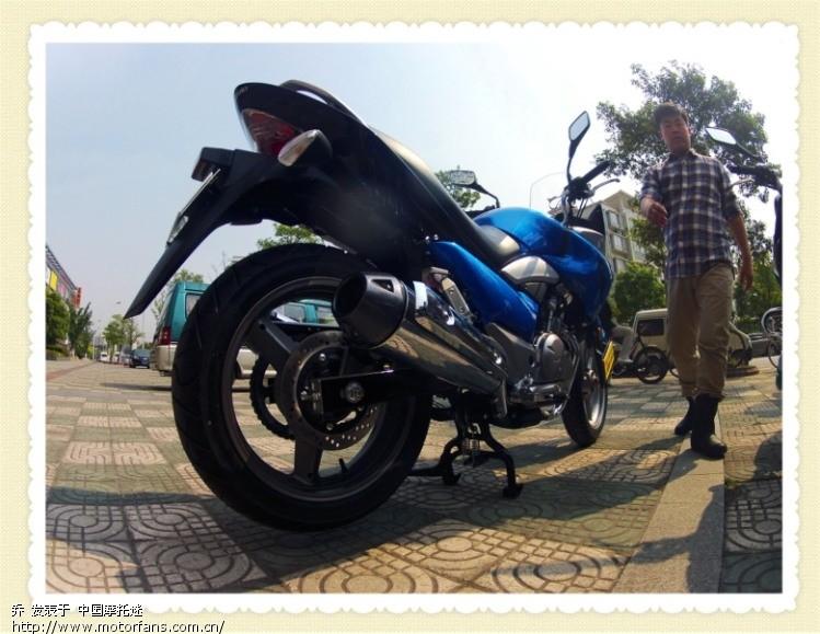 摩托车论坛 豪爵铃木-骑式车讨论专区 悦酷gz150 03 gz150-a改了