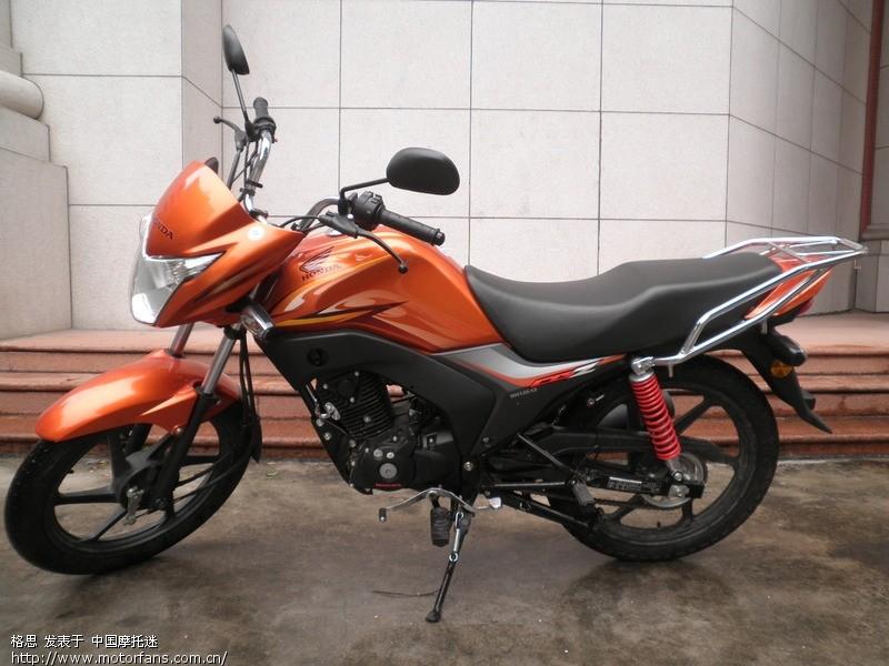 摩托车论坛 五羊本田-骑式车讨论专区 03 360公里锋朗和车行换wy125