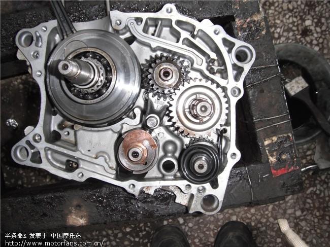 图解新大洲cb125 ots发动机全过程