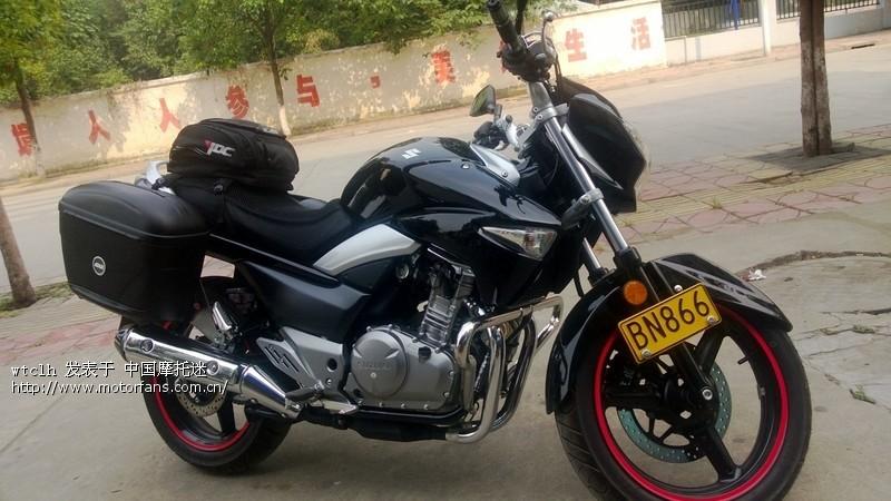 我的gw250小改装 - 豪爵铃木-骑式车讨论专区