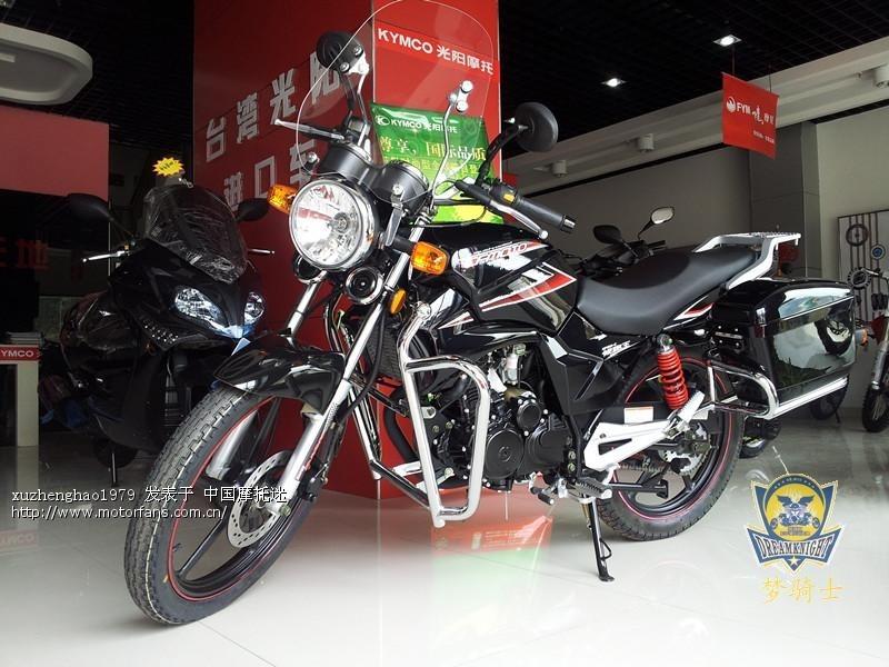 春风水冷cf150 c圆灯版领跑王旅行版水冷150六档街车摩托车图片