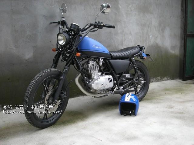 GN125复古改装 摩托车论