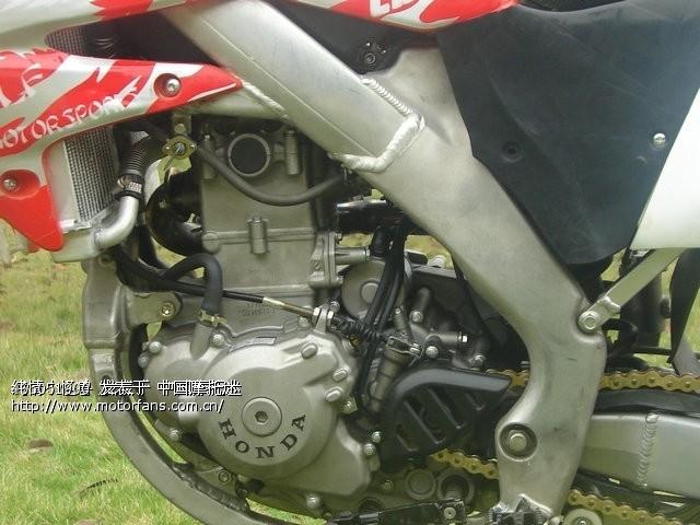 这款发动机是仿本田越野的crf250.