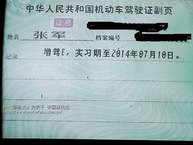 陕西驾驶证照片