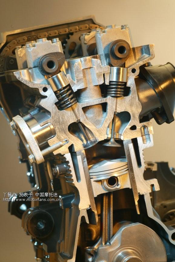 也是最昂贵的解决方案:是齿轮级联传递,在一些本田v4引擎上,就是这个图片