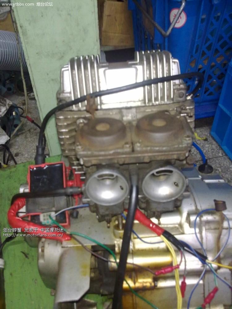 春兰豹双缸发动机 - 维修改装 - 摩托车论坛 - 中国第