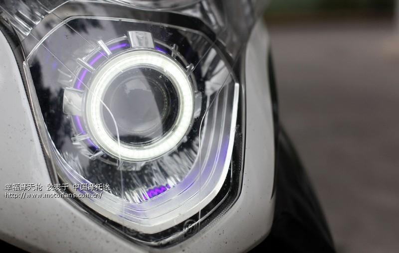 酷影改前减震碟刹和大灯 - 五羊本田-踏板车讨论专区