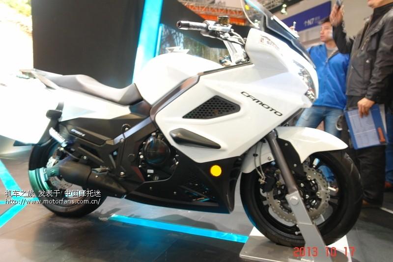 捷悍300,cf650,钱江凯威250v试驾 摩托车论高清图片