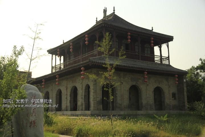 珠海北山大院的建筑