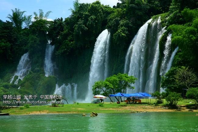 壁纸 风景 旅游 瀑布 山水 桌面 650_433
