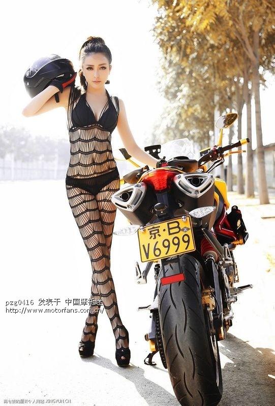 美女VS野兽:黄龙600+美女黑丝透视高清组图