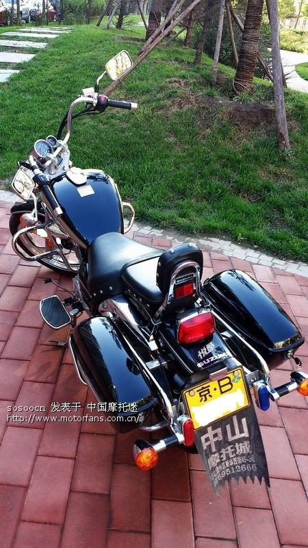 豪爵铃木gz150a悦酷巡航太子摩托车