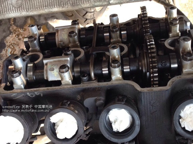 老古董 cbr250 ,17期存复活计 维修改装 摩托 高清图片
