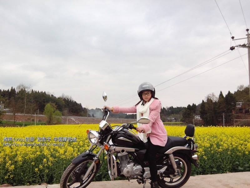 更新改装贴 新大洲本田焰影选车 提车 100km骑行报告高清图片
