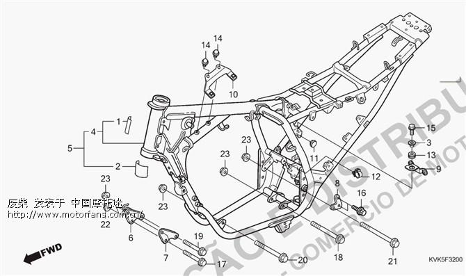 车架结构对比-雅马哈-摩托车论坛手机版-中国第一