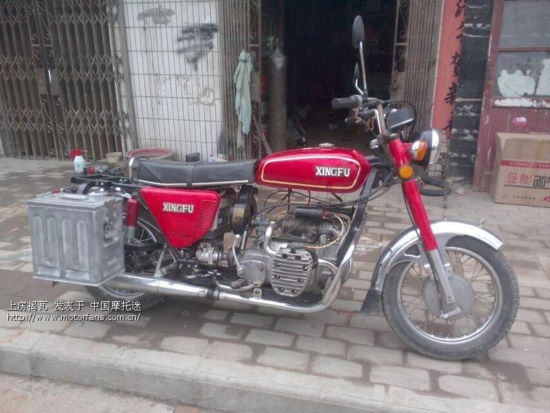 长江750摩托车手绘图