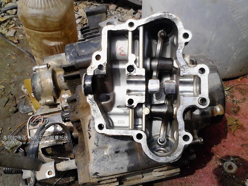 2000年产豪爵铃木gs125发动机