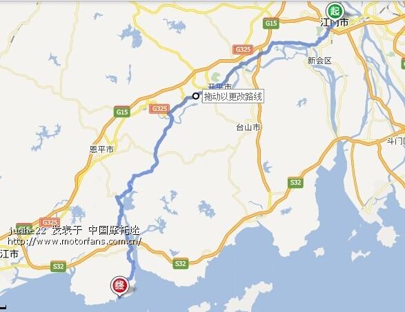 为什么不建议从崖南经上川岛附近的路线去?
