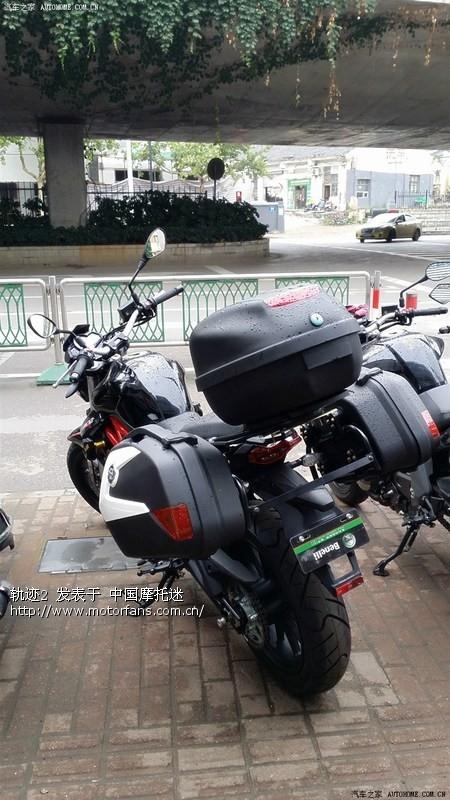 300边箱 尾箱 - 摩托车论坛 - 钱江摩托 - 摩托车论坛