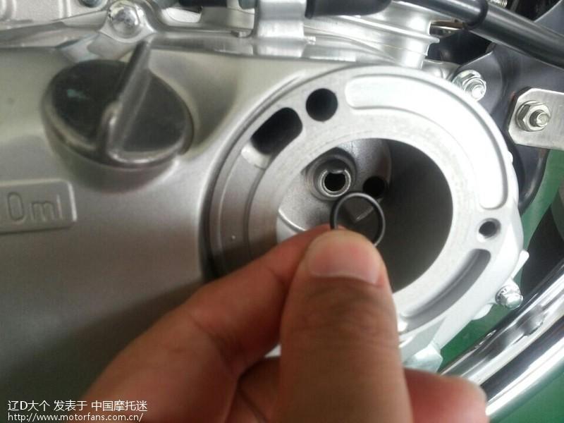 gsx125换机油,滤芯全过程(图)