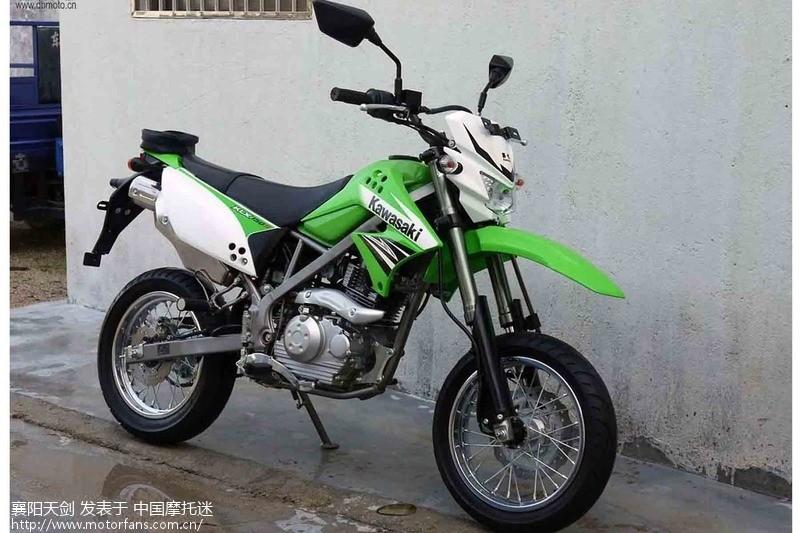 雅马哈ttr125越野摩托车 高清图片