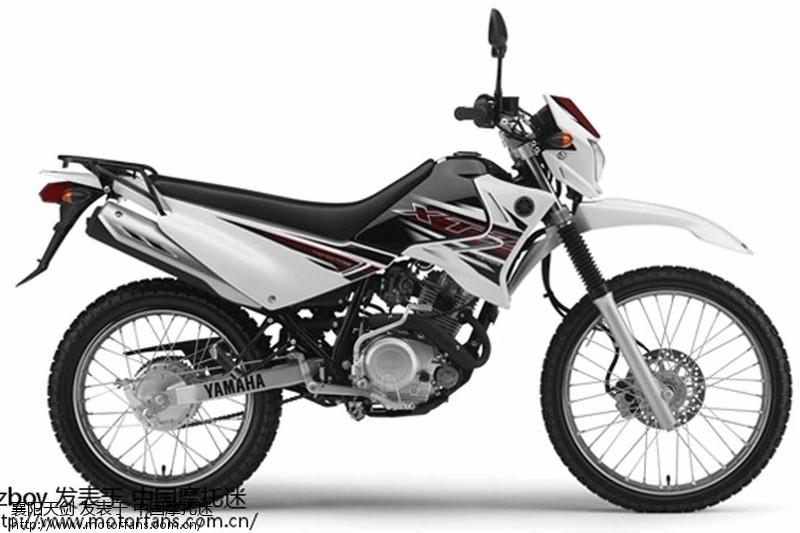 雅马哈ttr125越野 摩托车 高清图片