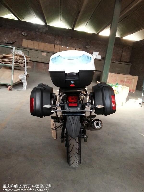 峰越300R战豹的尾箱边箱已经设计完好,可以定购了 重庆陈峰.峰越摩