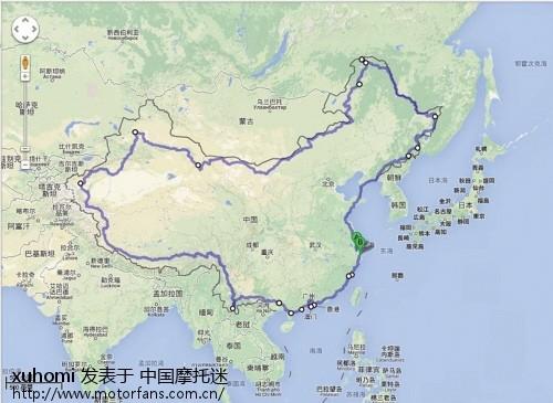 山东青岛旅游路线图