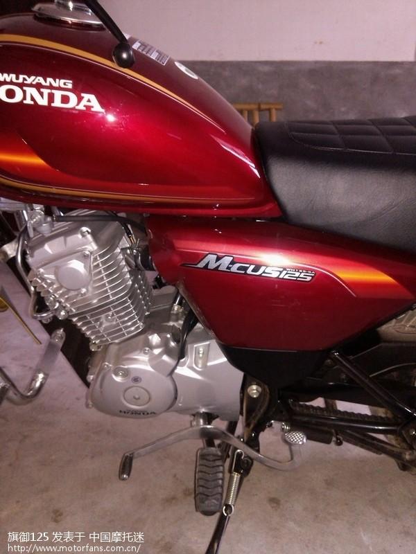摩托车论坛 五羊本田-骑式车讨论专区 03 我的锐猛终于有五本的小