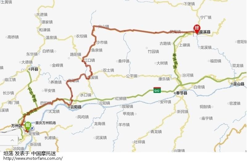 四川奉节县地图