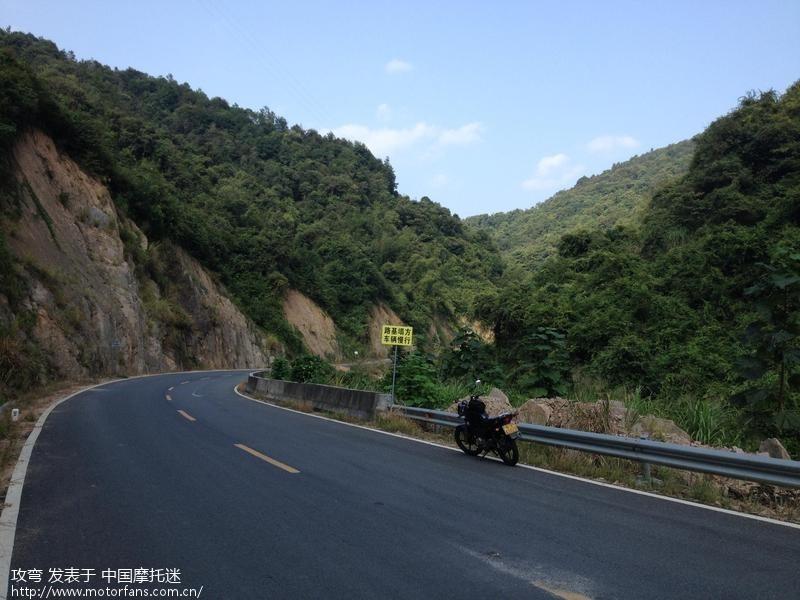 k车开路上风景