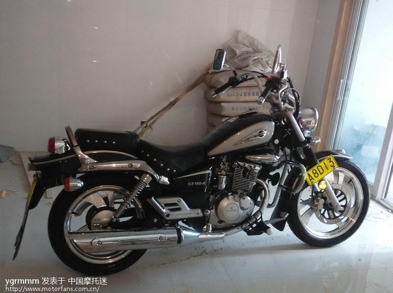 摩托车论坛 豪爵铃木-骑式车讨论专区 悦酷gz150 03 建个小窝,记录
