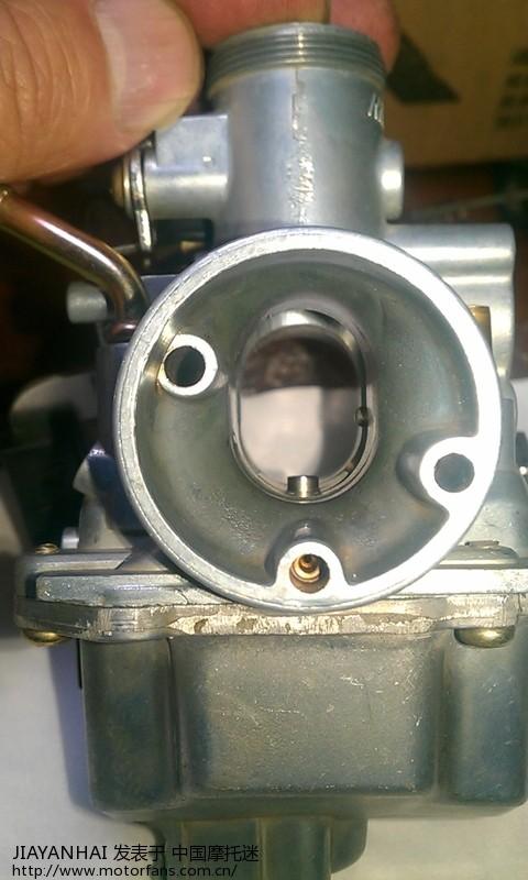 天剑125换化油器出问题.有欧二化油器清洗图