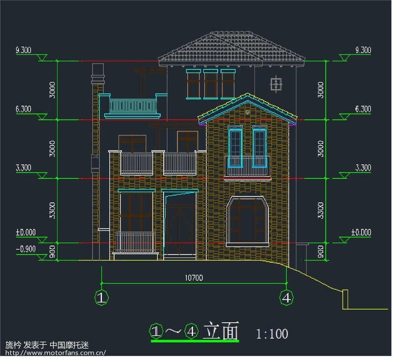 农村建房 长14米宽8米