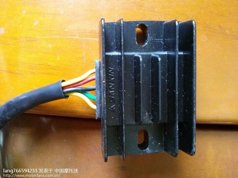 电池镇流器接线图解