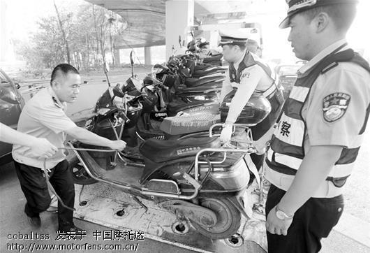 我认为,武汉出台的《摩托车到期注销条例》又
