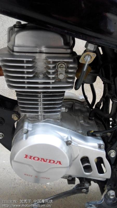 我收藏的本田立缸50跟100的发动机图片