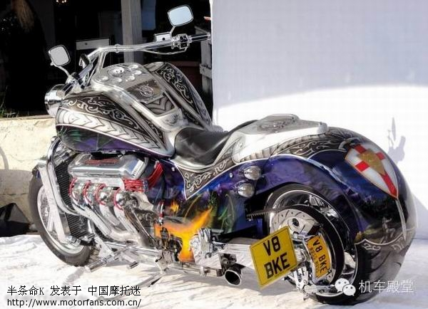 鬼子的川奇本田算什么看采用战斧10缸v8发动机的肯塔基只要168000美圆图片