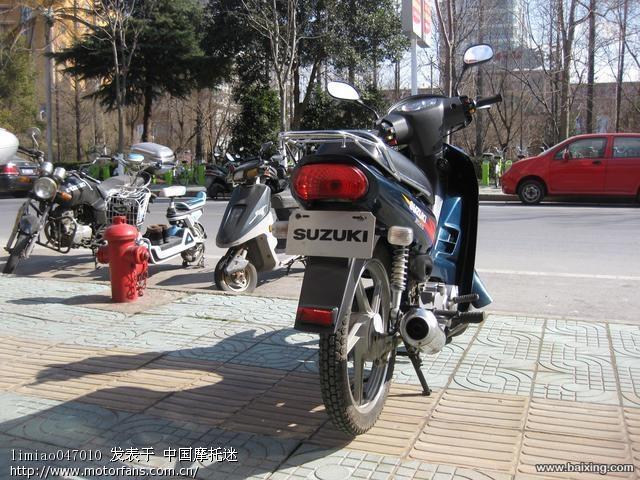 2010年买金城铃木弯梁只骑了2000公里