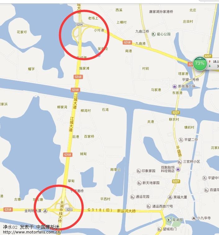 吴江到湖州地图